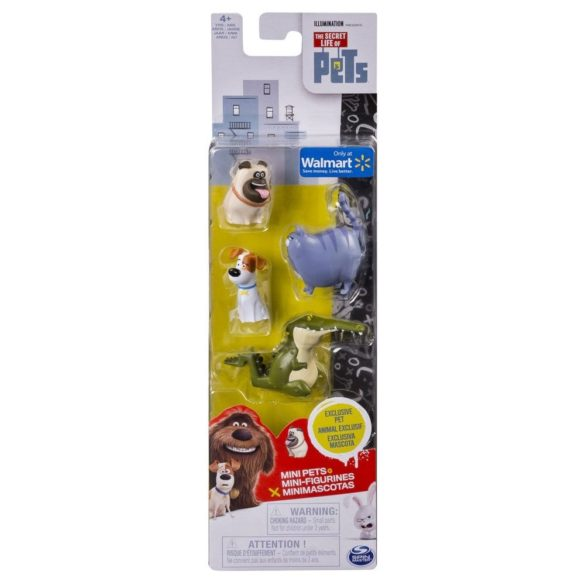 The Secret Life of Pets Set de 4 Figurine Model 2 3
