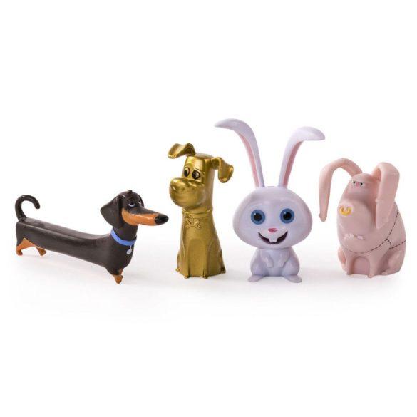 The Secret Life of Pets Set de 4 Figurine Model 4 1