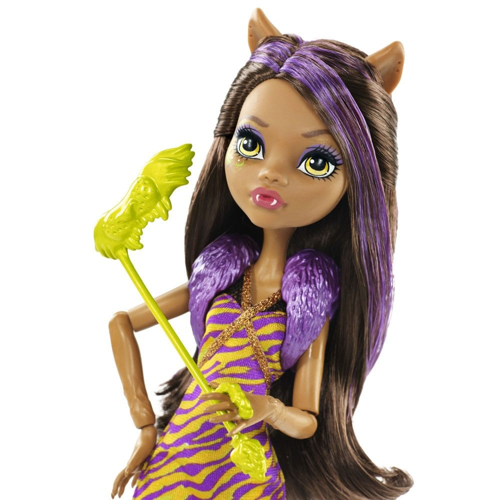 dance the fright away papusa clawdeen wolf monster high. Black Bedroom Furniture Sets. Home Design Ideas