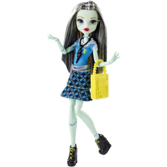 Papusa Frankie Stein Monster High Prima zi de Scoala 1