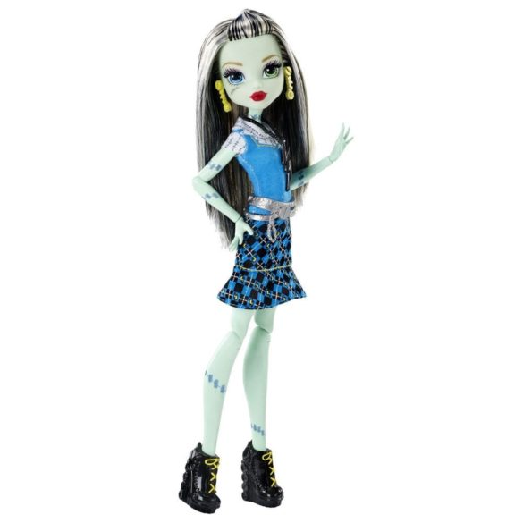 Papusa Frankie Stein Monster High Prima zi de Scoala 6