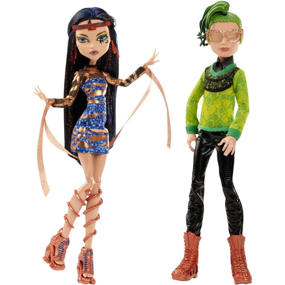Set 2 Papusi Monster High Cleo de Nile si Deuce Gorgon