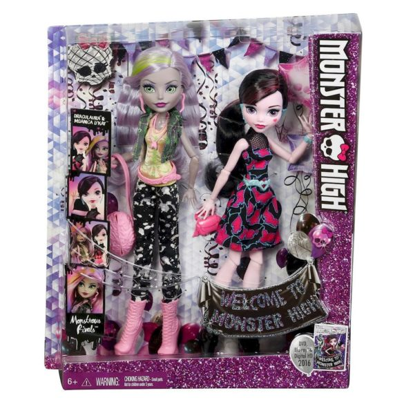Set 2 Papusi Monster High Draculaura si Moanica 7