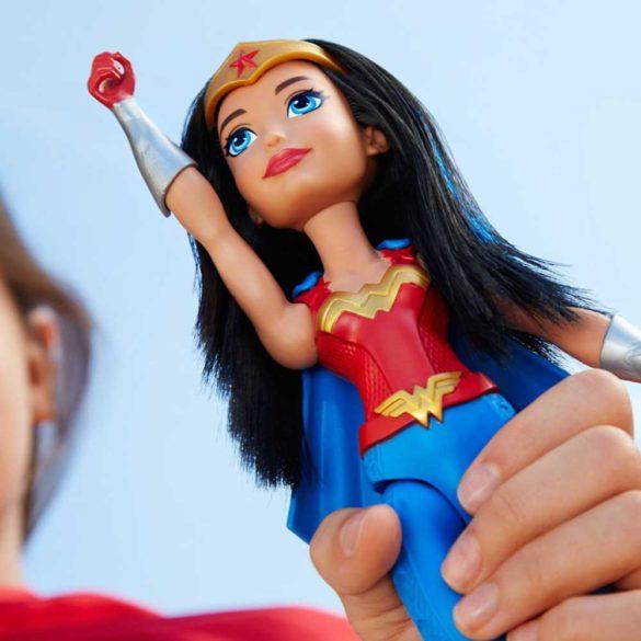 DC Super Hero Girls Antrenamentul Papusa Wonder Woman 4.