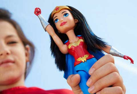 DC Super Hero Girls Antrenamentul Papusa Wonder Woman