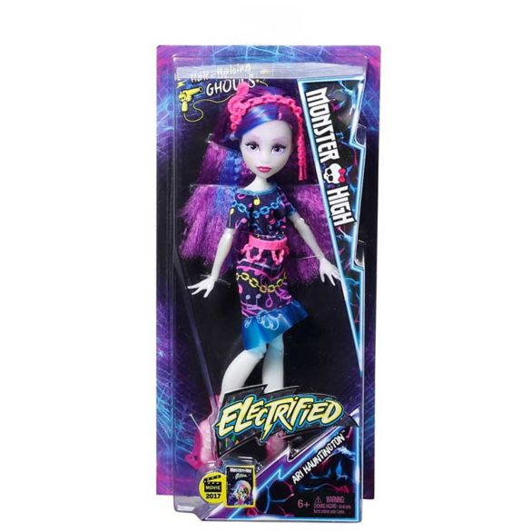 Papusa Ari Hauntington Monster High Parul Electrizat 8