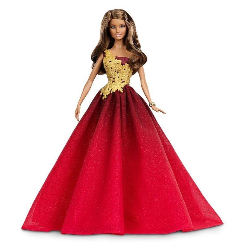 Papusa de Colectie Barbie in Rochie Rosie 2016