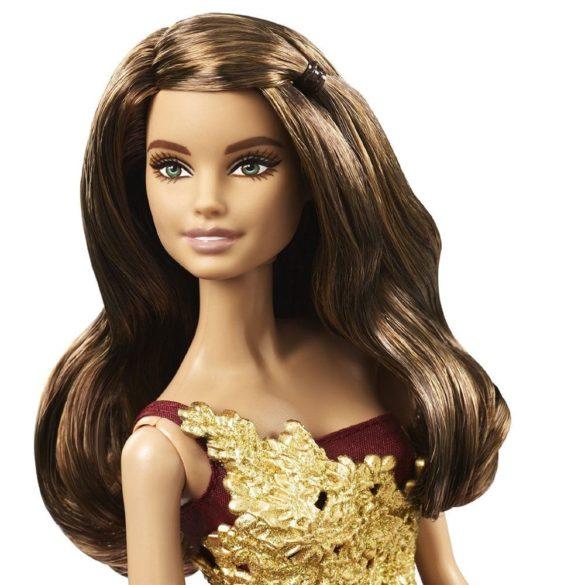 Papusa Barbie de Colectie in Rochie Rosie 2016 2