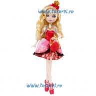 Papusa Ever After High Apple White fara Stand de Sustinere