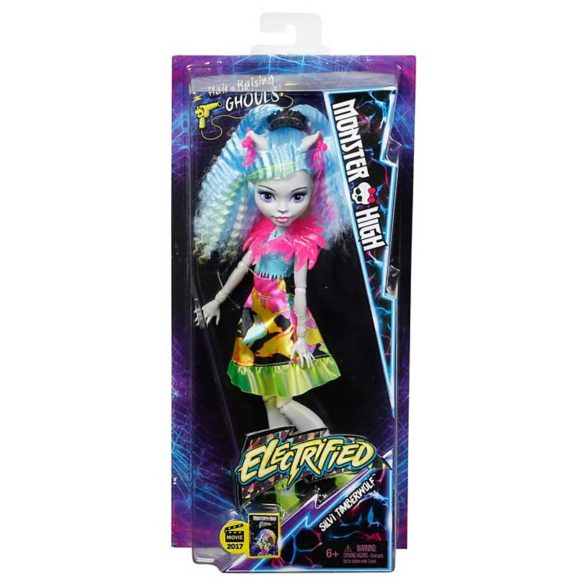 Papusa Silvi Timberwolf Monster High Parul Electrizat 6