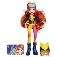 Papusa Sunset Shimmer My Little Pony Equestria Girls Stilul Sport