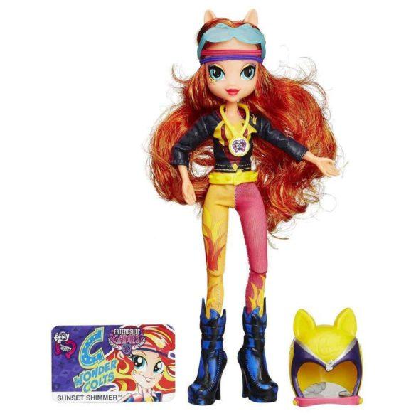 Papusa Sunset Shimmer My Little Pony Equestria Girls Stilul Sport