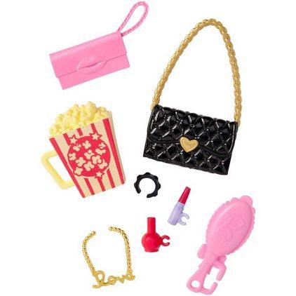 Accesorii Barbie Pachetul Pentru o Noapte la Cinema