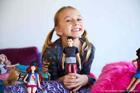 Barbie Fashionistas Papusa Ken