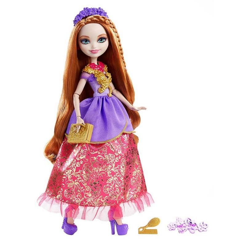 Ever After High Papusa Holly O'Hair Printesa Puternica