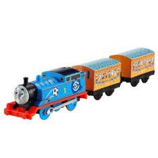 Locomotiva Motorizata cu Vagoane Thomas Echipa Albastra