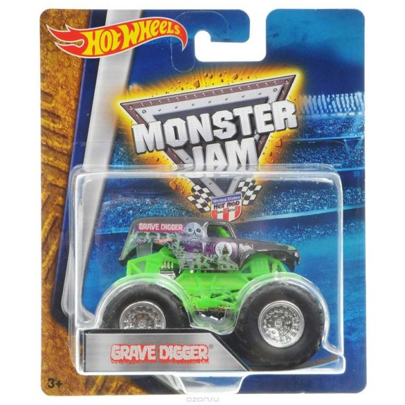 Masinuta Monster Jam Grave Digger 2
