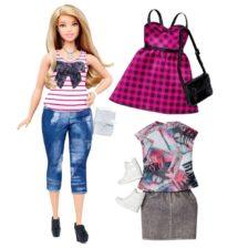 Papusa Barbie Fashionistas cu Accesorii 37 Tinuta Chic Moderna