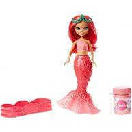 Barbie Dreamtopia Papusa Sirena Rosie cu Baloane de Sapun