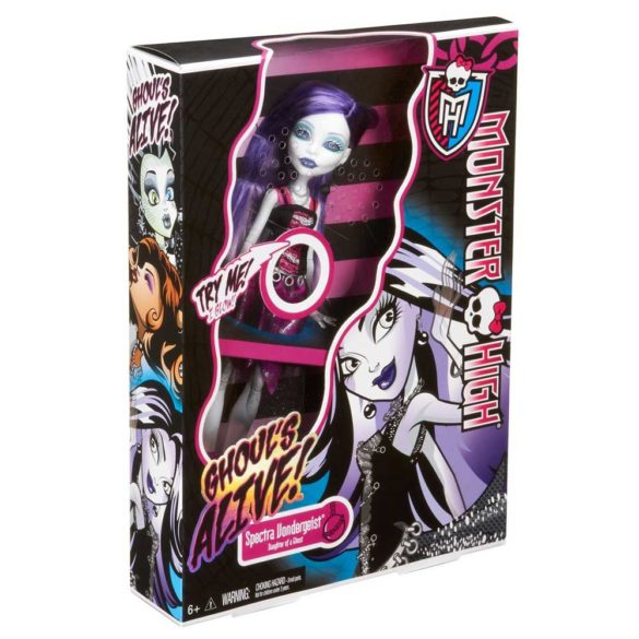 Monster High Ghouls Alive Papusa Spectra 4