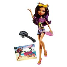 Monster High Gloom Beach Papusa Clawdeen Wolf