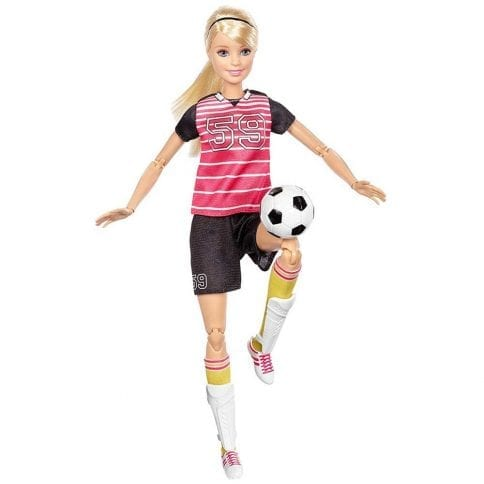 Papusa Barbie Made to Move Fotbalista