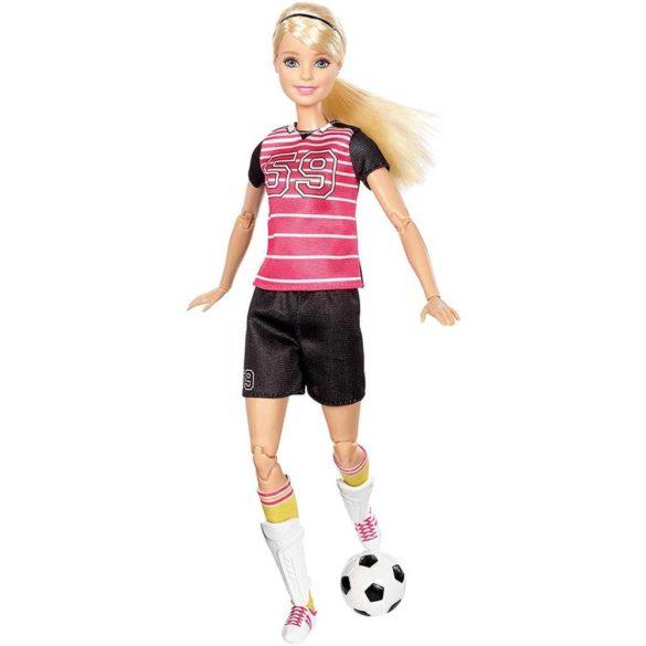 Papusa Barbie Made to Move Fotbalista 2