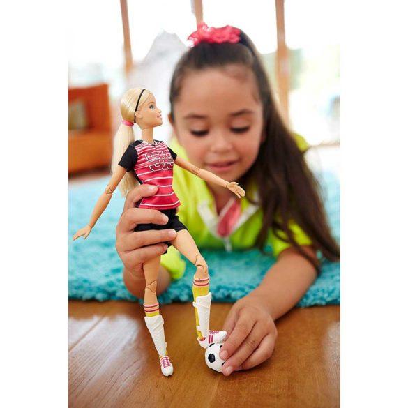 Papusa Barbie Made to Move Fotbalista 5