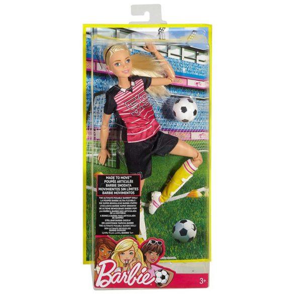 Papusa Barbie Made to Move Fotbalista 6