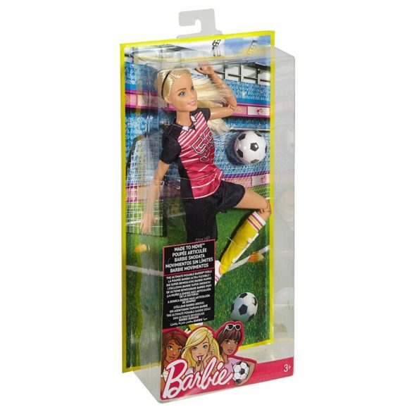Papusa Barbie Made to Move Fotbalista 7