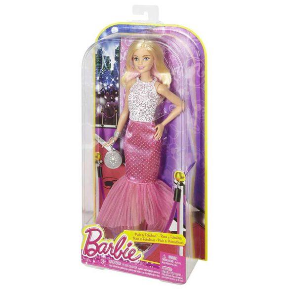 Papusa Barbie in Rochita Roz si Fabuloasa 6