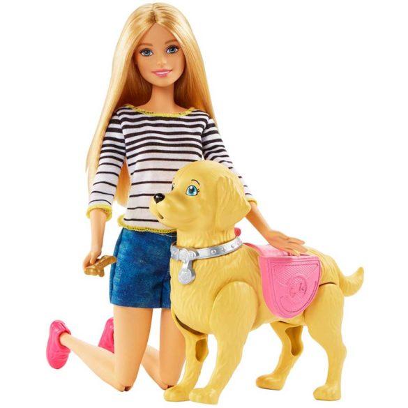 Papusa Barbie si Catelusul cu Accesorii 3