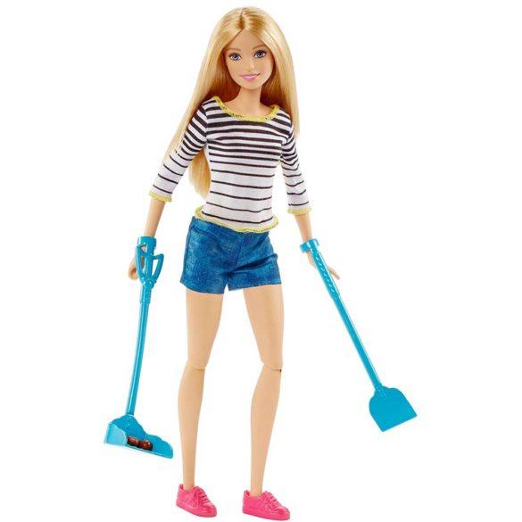 Papusa Barbie si Catelusul cu Accesorii 4
