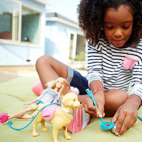 Papusa Barbie si Catelusul cu Accesorii 6