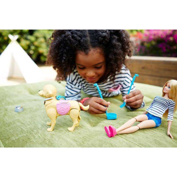 Papusa Barbie si Catelusul cu Accesorii 7