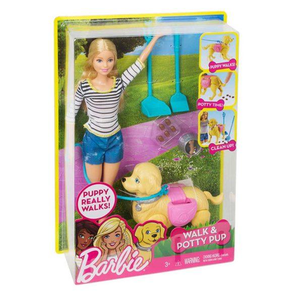 Papusa Barbie si Catelusul cu Accesorii 9