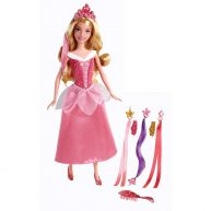 Printesele Disney Papusa Aurora si Setul de Joaca
