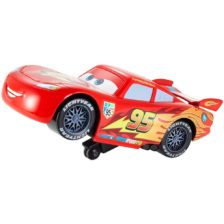 Masini de Cursa cu Actiune pe Doua Roti Lightning McQueen