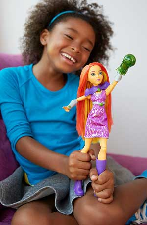 Papusa Starfire DC Super Hero Girls