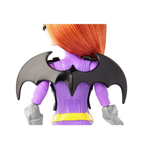 Super Hero Girls Echipamentul de Misiune Papusa Batgirl 6