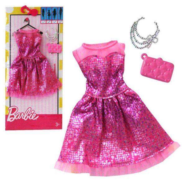 Barbie Rochita completa cu straluciri de diamant