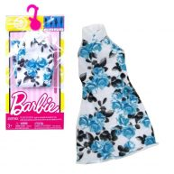 Rochita Pentru Papusa Barbie Lunga cu Trandafiri