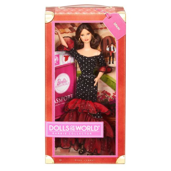 Barbie Dolls of The World Papusa Spania 5