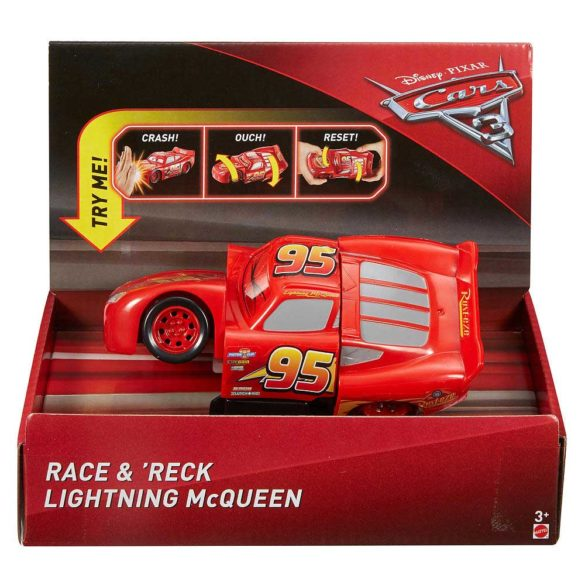 Cars 3 Curse Sucite Masinuta Lightning McQueen 4