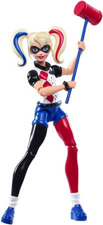 DC Super Hero Girls Figurina 15 cm Harley Quinn