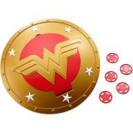 DC Super Hero Girls Scutul lui Wonder Woman de 30 cm