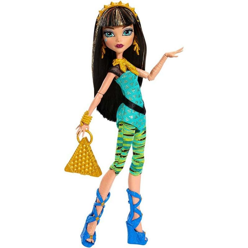 Monster High Prima zi de Scoala Papusa Cleo de Nile