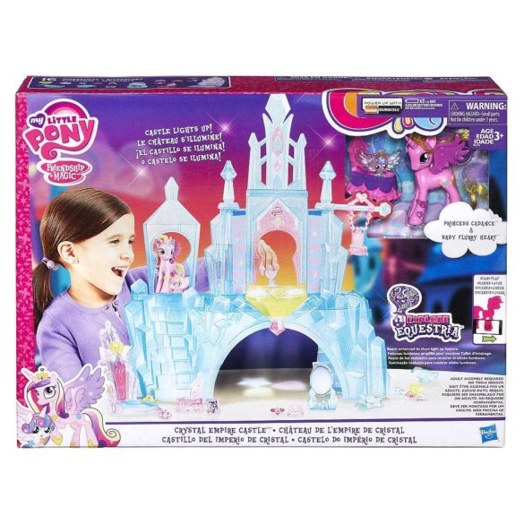 My Little Pony Castelul de Cristal al Printesei Cadance si Flurry Heart 4