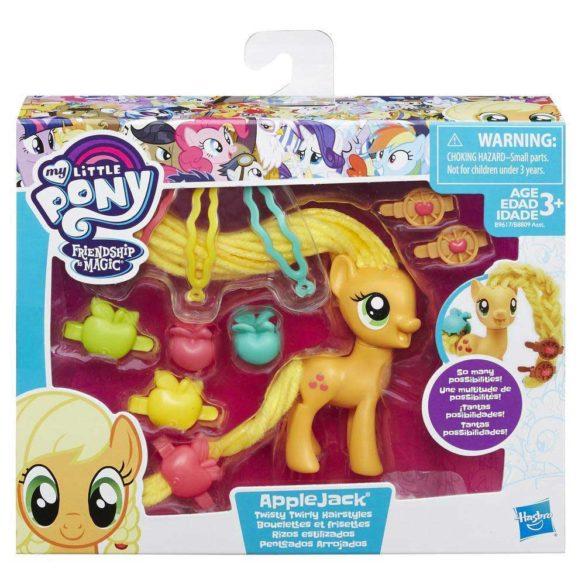 My Little Pony Coafuri de Gala Applejack 2
