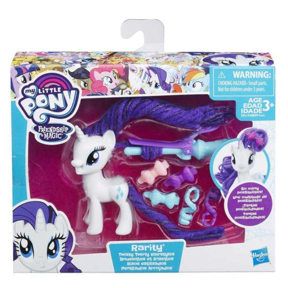 My Little Pony Coafuri de Gala Rarity 2
